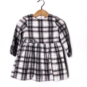 Carters Longsleeve Plaid Dress 18M